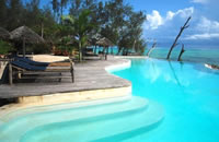 Pool at Pongwe Beach Hotel in Zanzibar