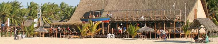 Barra Lodge in Mozambique