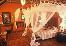 Room at Benguerra Lodge in Mozambique